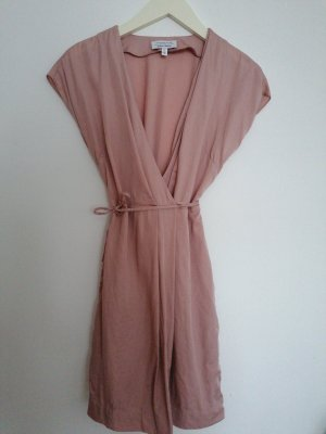 & other stories Robe portefeuille vieux rose lyocell