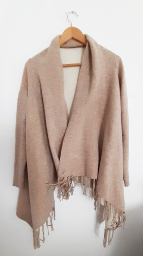 Wraparound Jacket beige-cream