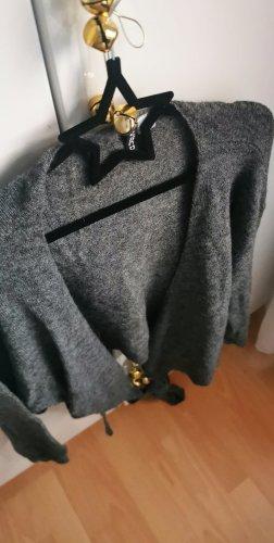 H&M Pull kimono gris anthracite