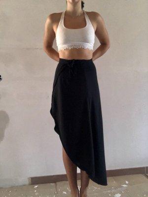 H&M Divided Wraparound Skirt black