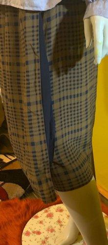 Etienne Aigner Wraparound Skirt brown-dark blue