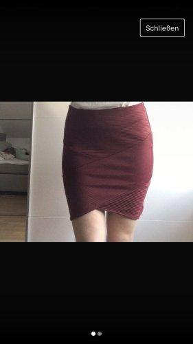 Pimkie Wraparound Skirt bordeaux