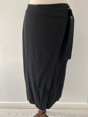 talk about Wraparound Skirt black-silver-colored