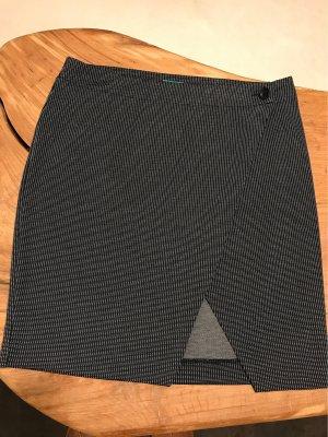 Benetton Kopertowa spódnica ciemnoniebieski-biały