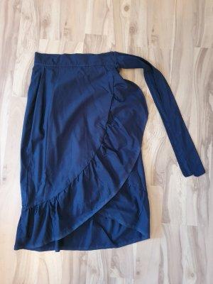 Wraparound Skirt blue