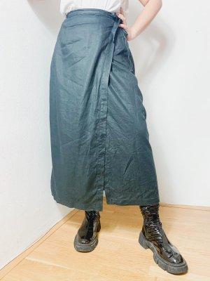 Vintage Jupe portefeuille noir