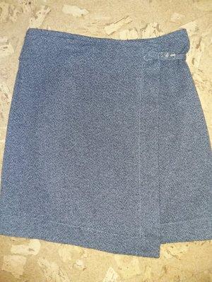 Lanius Wraparound Skirt white-black