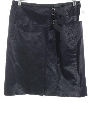 Wickelrock schwarz Elegant