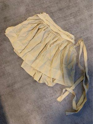 Ralph Lauren Wraparound Skirt pale yellow-cream