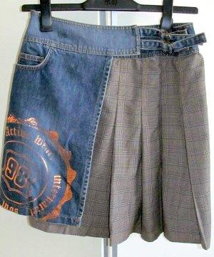 Vero Moda Jupe portefeuille bleu-gris