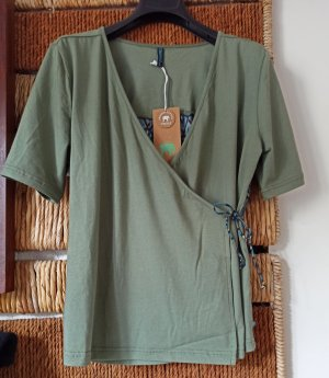 Tranquillo Wraparound Shirt blue-khaki