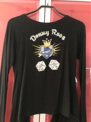 Denny Rose Wraparound Shirt multicolored cotton