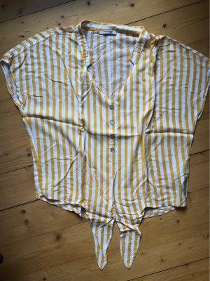 Orsay Wraparound Shirt white-gold orange