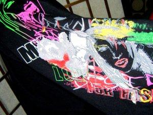Madonna Maglietta aderente multicolore Cotone