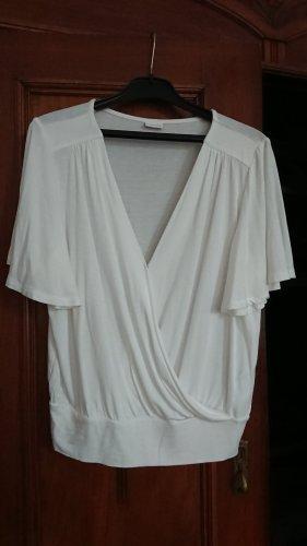 Lascana Wraparound Shirt white viscose