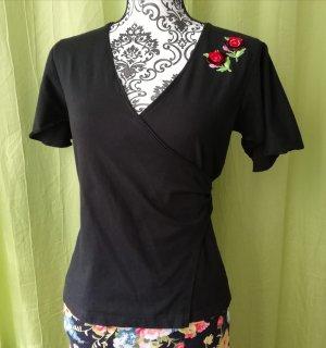 Kopertowa koszulka czarny