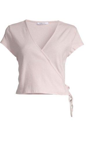 Wickeltshirt in rosa