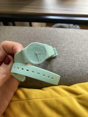Swatch Analoog horloge turkoois