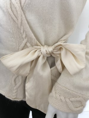 Nougat London Scaldacuore in maglia bianco sporco
