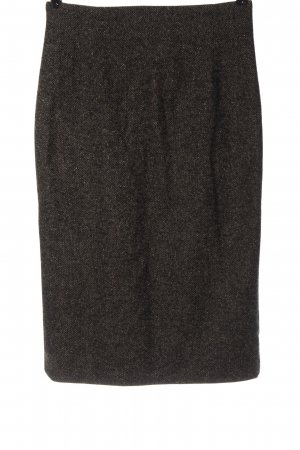 Widax Knitted Skirt brown flecked business style