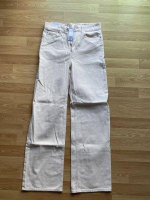 Wide High Waisted Full Length Jean 38
