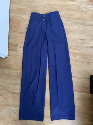 Mango Marlene Trousers blue-dark violet