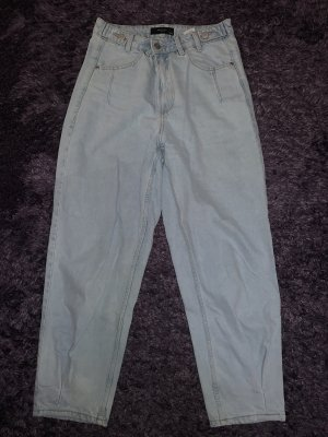 Reserved Workowate jeansy jasnoniebieski-błękitny