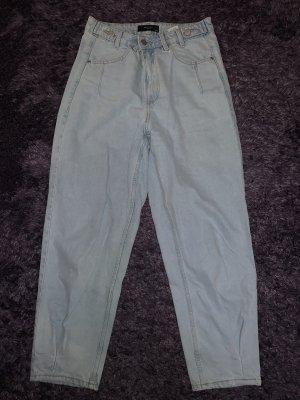 Reserved Baggy Jeans light blue-azure