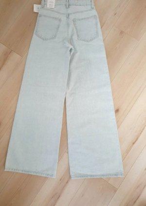 wide-leg Jeans von Zara Gr 34