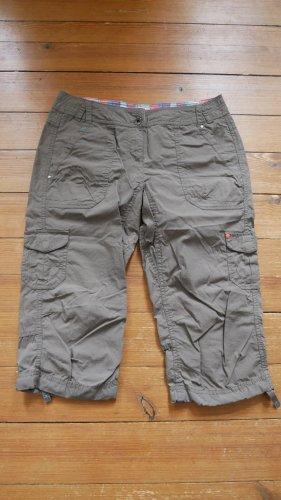 Esprit Pantalon 3/4 kaki