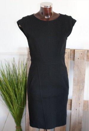 Strenesse Blue Sheath Dress black mixture fibre