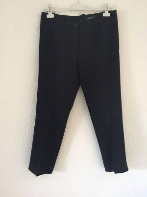 Apart 7/8-broek zwart Polyester