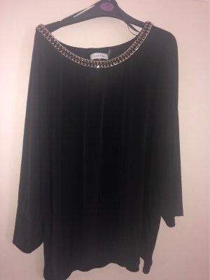 Calvin Klein Kimono blouse zwart-goud