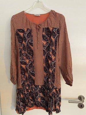 Malvin Vestito di lana cognac-bronzo