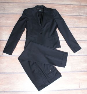 Dolce & Gabbana Traje de pantalón negro Lana
