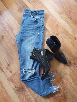 Wie neu ! Highwaist Ankle-Jeans Inch-Gr.31 H&M