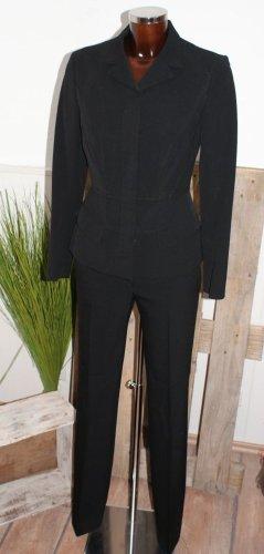 Prada Tailleur-pantalon noir laine vierge