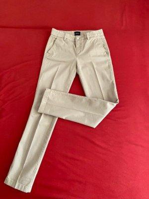 Liu jo Pantalon chinos beige clair coton