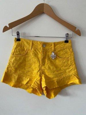 Liu jo Short jaune coton