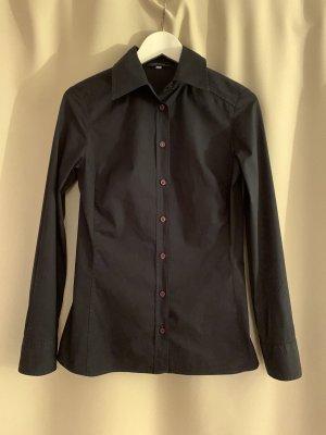 Ungaro Long Sleeve Shirt dark blue-black