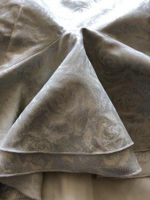 Swing Wedding Dress white-silver-colored mixture fibre