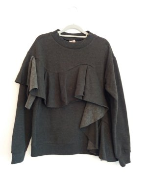 Wie neu: Origineller Sweater mit Volants