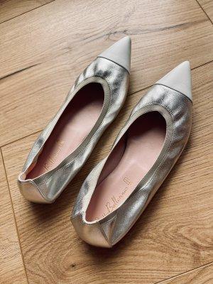 Wie neu - Pretty Ballerinas 38,5 in Silber