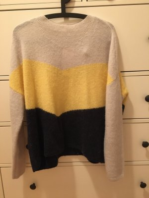 Wie NEU Pullover JUST FEMALE Gr. XS 34/36 Colorblock