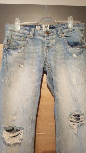 *Wie Neu: River Island Destroyed Jeans UK 10R/38
