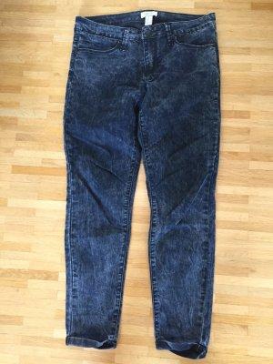 Wie neu: Skinny Jeans, acid washed