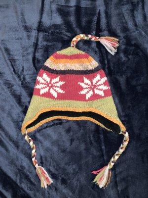 1 brand Chapeau en tricot multicolore