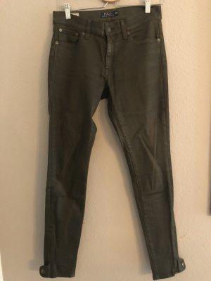 Polo Ralph Lauren Pantalón de tubo verde oliva-caqui Algodón