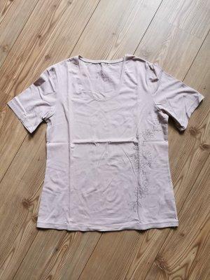 wie NEU / T-Shirt Rundhalsausschnitt / TCM / Kurzarm / Altrosa / Rosa / Gr. 40 / Damen