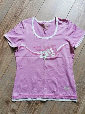 wie NEU / T-Shirt Rundhalsausschnitt / TCM / Kurzarm / Pink / Rosa / Gr. 36/38 / Damen
